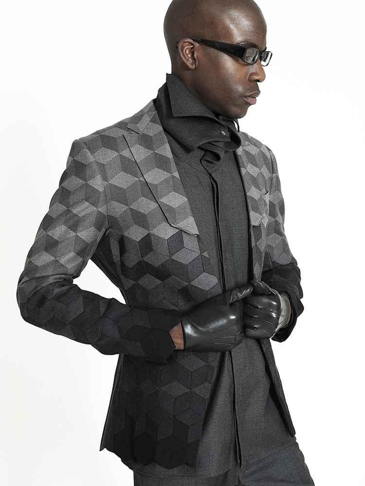 3D geometric jacket